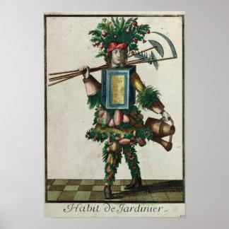 The Gardener's Costume Posters