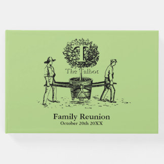 The Gardeners Family Reunion Custom Guest Book