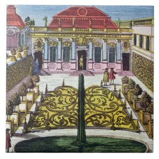 The Gardens of the Mirabelle Park, Salzburg, Austr Tile