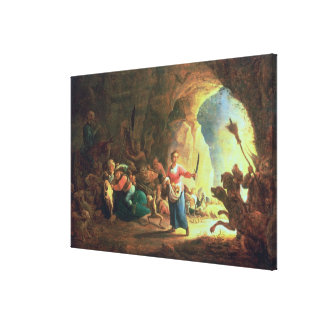 The Gates of Hades Stretched Canvas Print