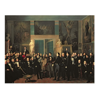 The Gathering of the Poets, 1846 Postcard