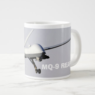 The General Atomics MQ-9 Reaper Large Coffee Mug