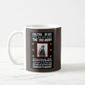 THE GENERAL FOR WAR ON TERROR! BASIC WHITE MUG