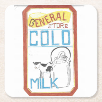 The General Store  - Cold Milk - Coaster
