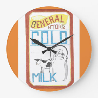 The General Store  - Cold Milk - Cow Clock