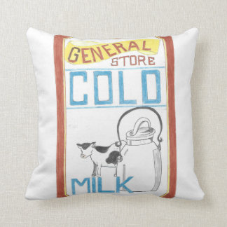 The General Store  - Cold Milk - Cow Pillow