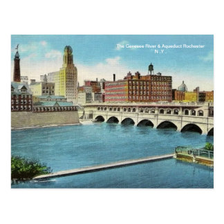 The Genesee River & Aqueduct  Postcard