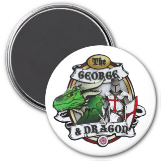 The George And Dragon Magnet