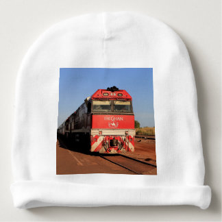 The Ghan train locomotive, Darwin Baby Beanie