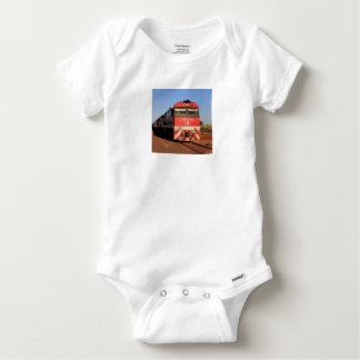 The Ghan train locomotive, Darwin Baby Onesie
