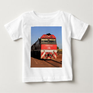 The Ghan train locomotive, Darwin Baby T-Shirt