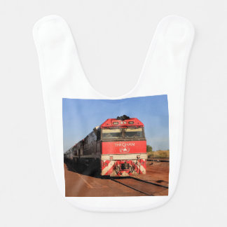 The Ghan train locomotive, Darwin Bib