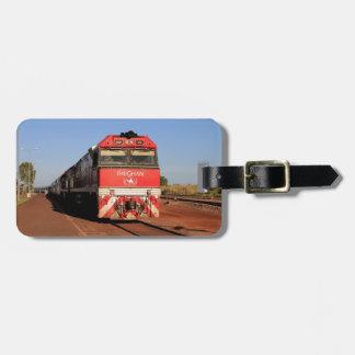 The Ghan train locomotive, Darwin Luggage Tag