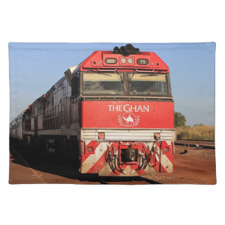 The Ghan train locomotive, Darwin Placemat