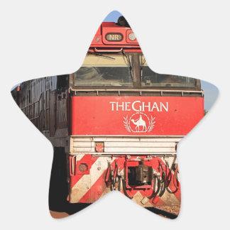 The Ghan train locomotive, Darwin Star Sticker