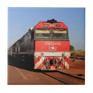 The Ghan train locomotive, Darwin Tile
