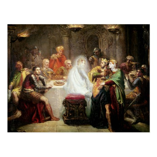 The Ghost of Banquo Postcard