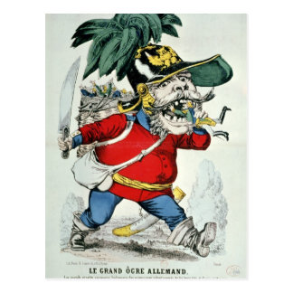 The Giant German Ogre Postcard