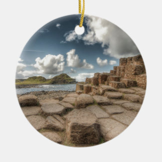 The Giant's Causeway, Northern Ireland Ceramic Ornament