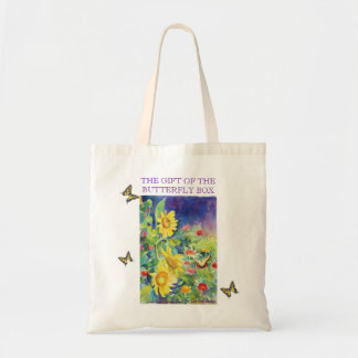 The Gift of the Butterfly Box Canvas Bag