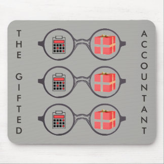 """The Gifted Accountant's Logo"" Mouse Pad"