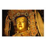 The gilded Jowo Buddha Statue, Jokhang Temple, Photo Art