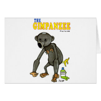 The Gimpanzee Card