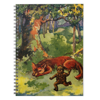 The Gingerbread Boy and the Fox Notebook