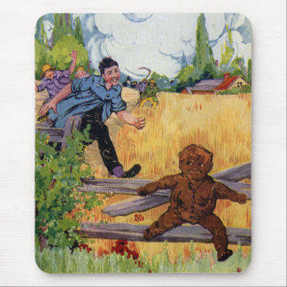 The Gingerbread Boy Escapes Mouse Pad