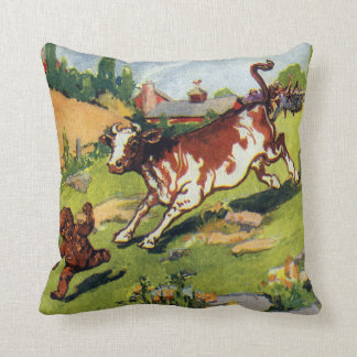 The Gingerbread Boy & the Cow Pillow