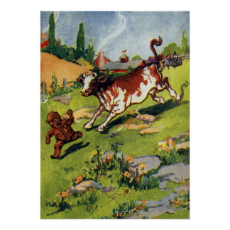 The Gingerbread Boy the Cow Posters