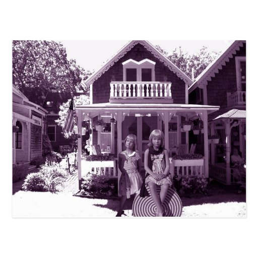 The Gingerbread House Postcards