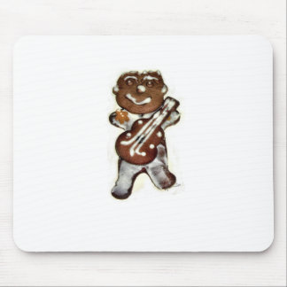 The Gingerbread Man Rocks Mouse Pad