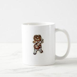 The Gingerbread Man Rocks Basic White Mug