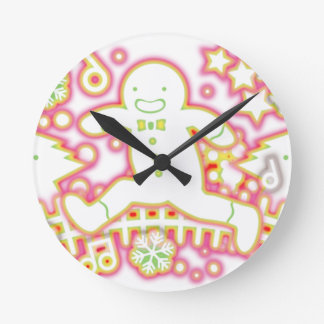 The_Gingerbread_Man Round Clock