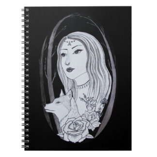 The Girl and The Wolf Notebooks