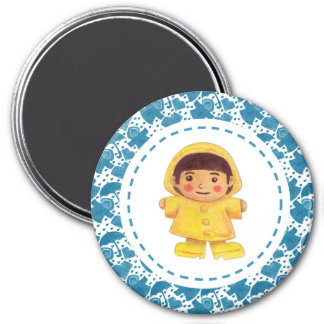 The Girl in the Rainy Season 7.5 Cm Round Magnet