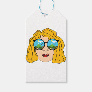 The girl that loves the outdoors gift tags