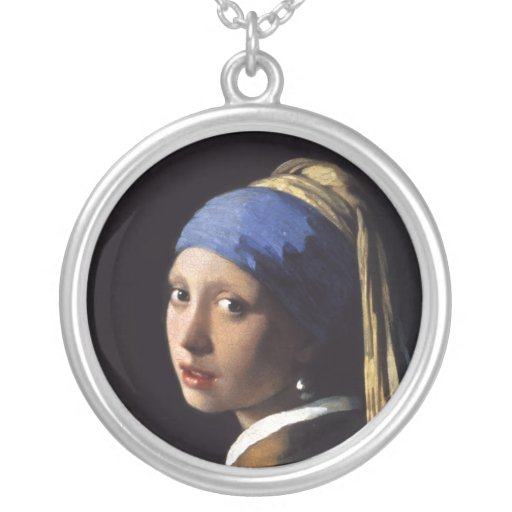 The Girl With A Pearl Earring by Johannes Vermeer Pendants
