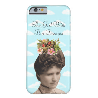 The Girl With Big Dreams (and big hair) Collage iPhone 6 Case