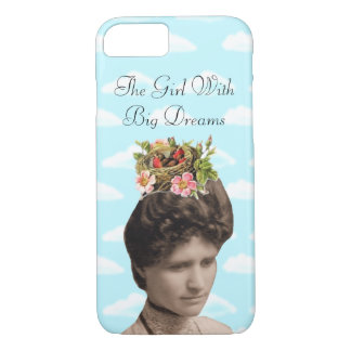 The Girl With Big Dreams (and big hair) Collage iPhone 7 Case