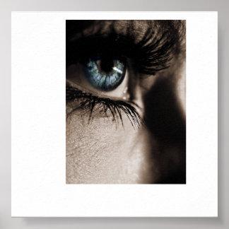 """The girl with kaleidoscope eyes..."" Poster"