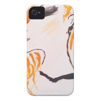 The girl with red hair. iPhone 4 case