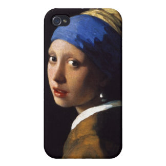 The Girl With The Pearl Earring Johannes Vermeer Cover For iPhone 4