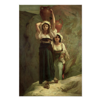 The Girls of Alvito, 1855 Poster