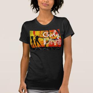 The Girly Diva T-Shirt/Black T-Shirt