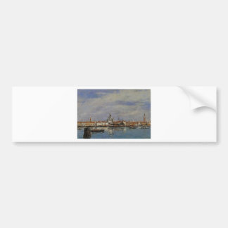 The Giudecca from The Zatteri, Venice Bumper Sticker
