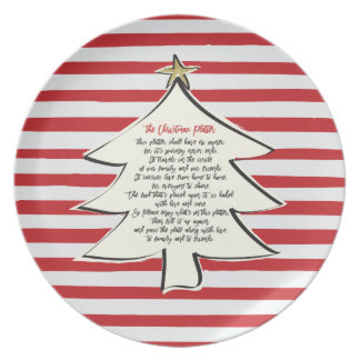 The Giving Christmas Platter - Christmas Tree Party Plates