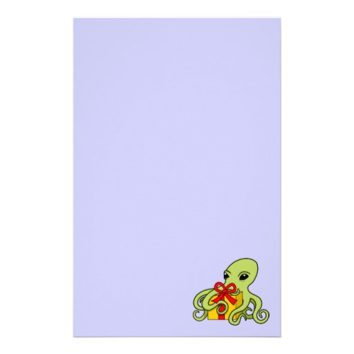 The Giving Octopus Stationery Paper