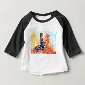 The giving tree a Native American Girl Praying Baby T-Shirt